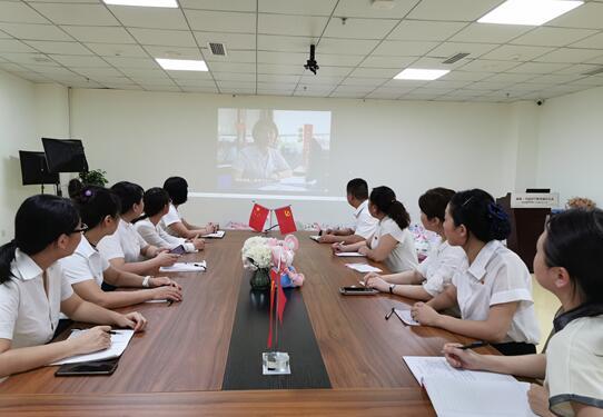 """""""庆七一 颂党恩""""雅安恒博医院支部委员会举办主题党日活动"""